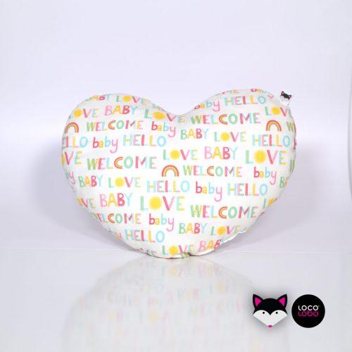 LocoLobo jastuk za bebe Love