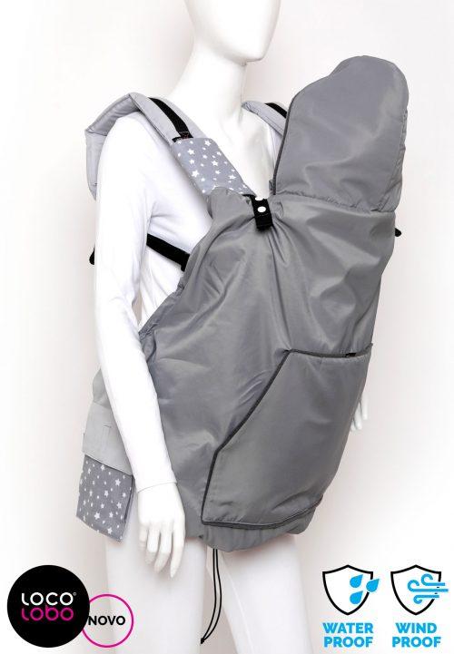 LocoLobo cover, jakna, kabanica, pokrivalo za nosiljku