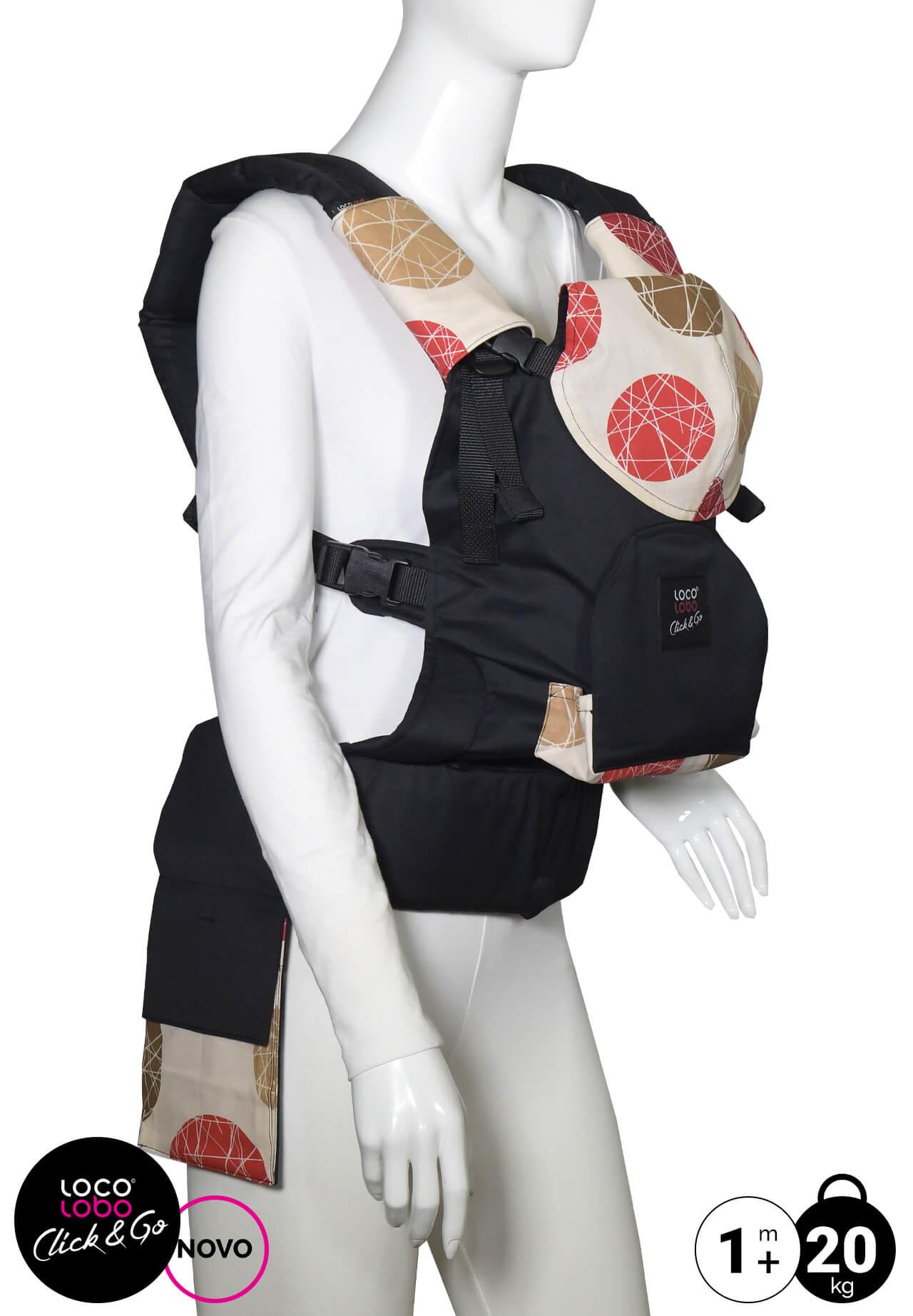 LocoLobo nosiljka za bebe klokanica