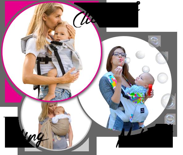 LocoLobo nosiljke za bebe. Klokanica, Mei Tai i Sling.